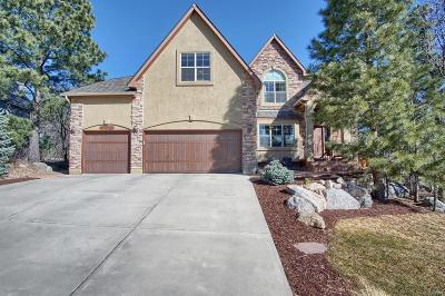 Colorado Springs Single Family Home Active: 274 Balmoral Way
