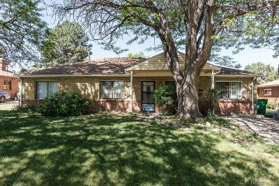 Aurora Single Family Home Active: 1131 Racine Street