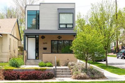 Denver Single Family Home Active: 3699 Lowell Boulevard