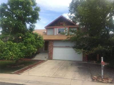Westminster Single Family Home Active: 10656 Irving Court