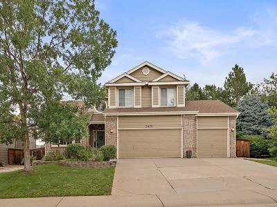 Highlands Ranch Single Family Home Under Contract: 5475 Knoll Place
