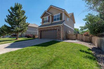 Castle Rock Single Family Home Under Contract: 3905 Miners Candle Drive