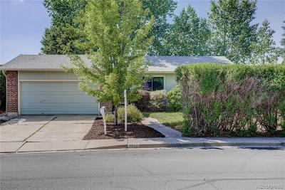 Broomfield Single Family Home Active: 3442 North Princess Circle
