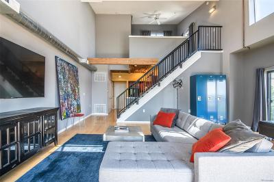 Denver Condo/Townhouse Active: 3295 Blake Street #307