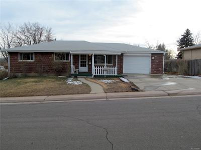 Englewood Single Family Home Under Contract: 3032 West Radcliff Drive