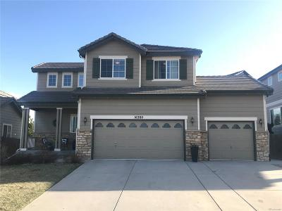 Parker Single Family Home Under Contract: 16380 East Jackalope Drive
