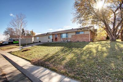 Denver Single Family Home Active: 2450 West Gunnison Drive