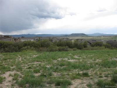 Castle Rock Residential Lots & Land Under Contract: 258 Castlemaine Court