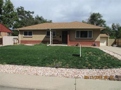 Lakewood CO Single Family Home Active: $445,000