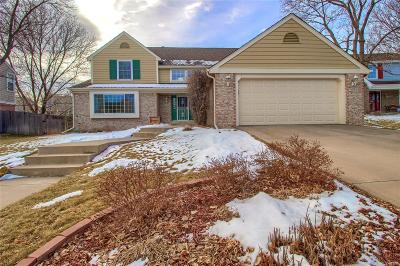Littleton Single Family Home Under Contract: 9882 West Brandt Place