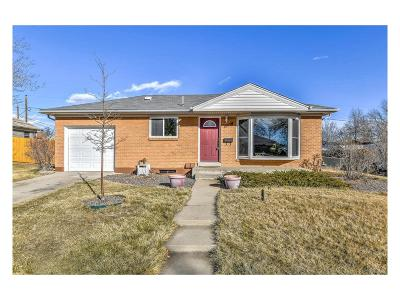 Northglenn Single Family Home Under Contract: 1365 Lucille Court