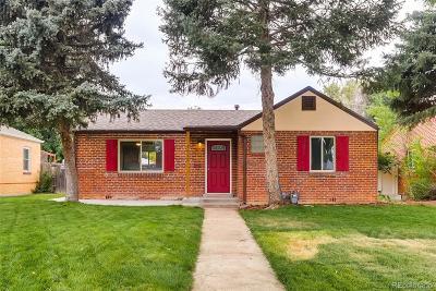 Colfax Ave, East Colfax Single Family Home Active: 1645 Syracuse Street