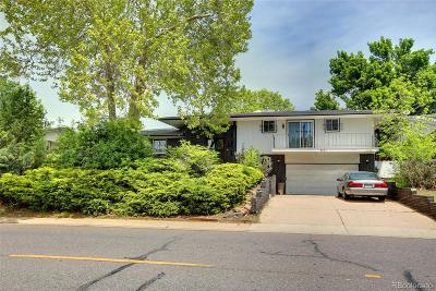 Denver Single Family Home Under Contract: 4721 West Yale Avenue
