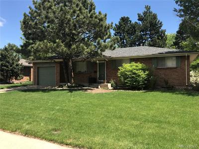 Lakewood Single Family Home Under Contract: 1454 South Dover Way