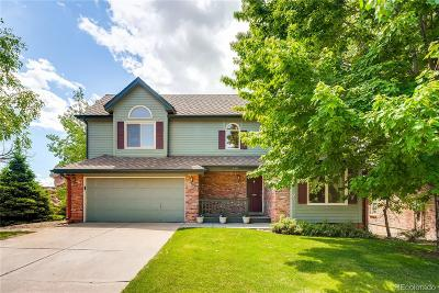 Littleton Single Family Home Under Contract: 124 Willowleaf Drive