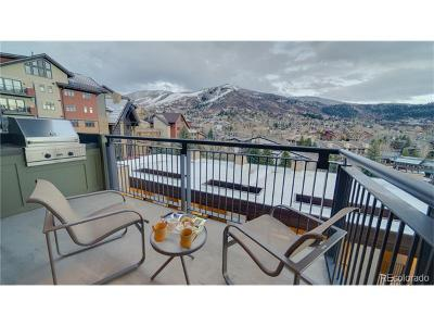Steamboat Springs Condo/Townhouse Active: 2250 Apres Ski Way #DC503
