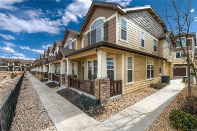 Castle Rock Condo/Townhouse Active: 1407 Turnberry Drive