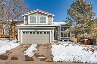 Highlands Ranch Single Family Home Under Contract: 9218 Roadrunner Drive