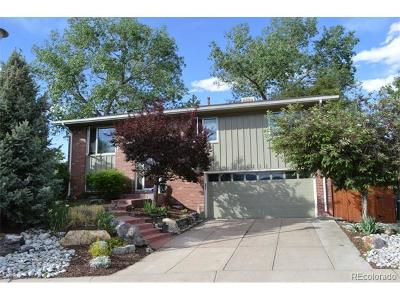 Lakewood CO Single Family Home Sold: $337,000