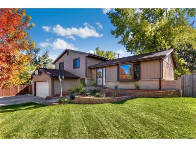 Littleton Single Family Home Active: 6168 West Fair Drive