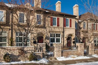Cherry Creek Condo/Townhouse Active: 127 South Garfield Street