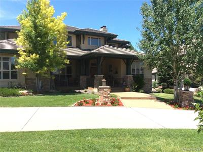 Lone Tree Single Family Home Active: 8746 Crooked Stick Place