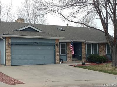 Littleton Single Family Home Active: 11077 West Polk Place