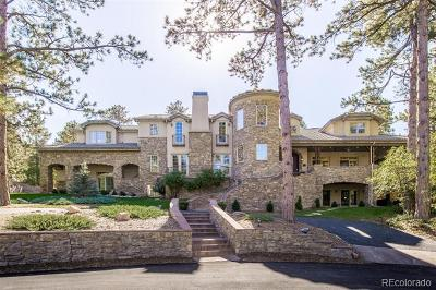 Castle Rock CO Single Family Home Active: $1,899,900