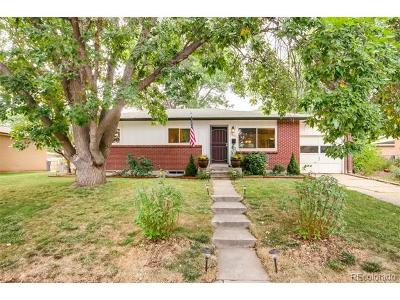 Arvada Single Family Home Active: 6837 Newcombe Street