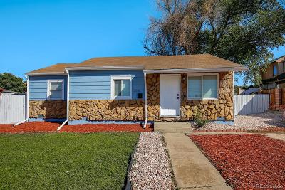 Thornton Single Family Home Under Contract: 2241 East 88th Avenue