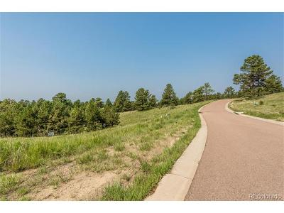 Parker Residential Lots & Land Active: 8296 Whisperwood Court