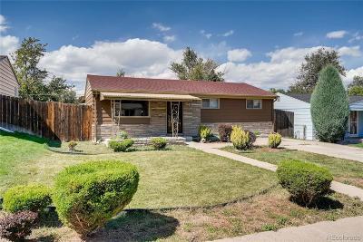 Denver Single Family Home Active: 121 South Stuart Street