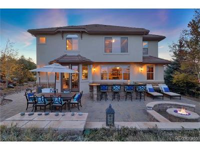 Castle Pines Single Family Home Active: 12452 Daniels Gate Drive