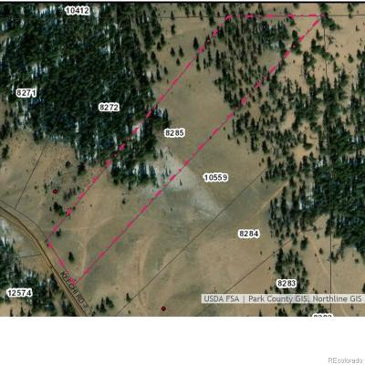 Hartsel CO Residential Lots & Land Active: $30,000