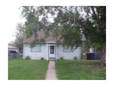 Denver Single Family Home Active: 2616 South Irving Street