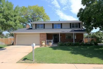 Centennial Single Family Home Active: 7569 South Franklin Way