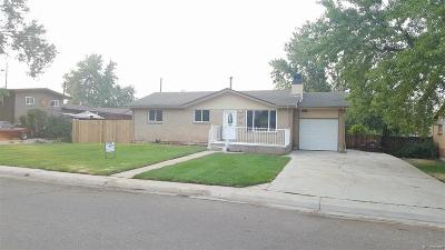 Lakewood Single Family Home Active: 7545 West Colorado Drive