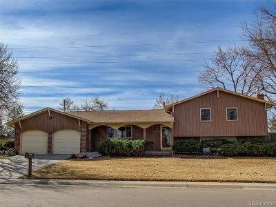 Centennial Single Family Home Under Contract: 6232 South Marion Way