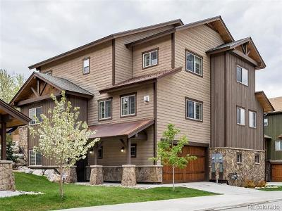 Steamboat Springs Condo/Townhouse Active: 447 Willett Heights Court