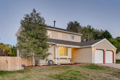 Centennial Single Family Home Under Contract: 18313 East Crestline Circle