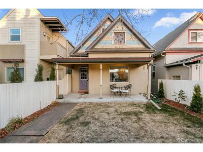 Denver Condo/Townhouse Active: 814 Fox Street
