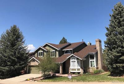 Highlands Ranch Single Family Home Under Contract: 2347 Wynterbrook Drive