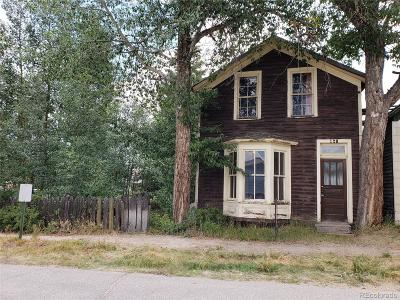 Leadville Single Family Home Under Contract: 128 East 3rd Street