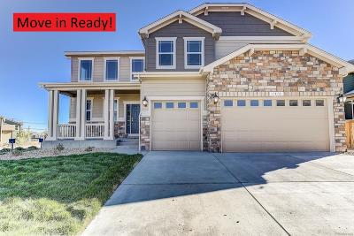 Castle Rock Single Family Home Under Contract: 1412 Sidewinder Circle