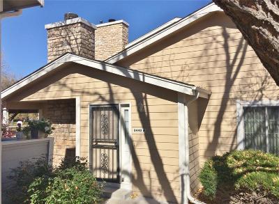 Arvada Condo/Townhouse Under Contract: 8440 Everett Way #A
