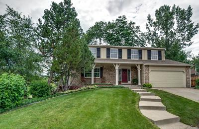 Littleton Single Family Home Under Contract: 7377 South Miller Court