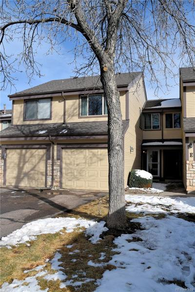 Littleton Condo/Townhouse Under Contract: 8354 South Everett Way #D