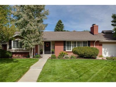 Denver Single Family Home Active: 3755 South Forest Way