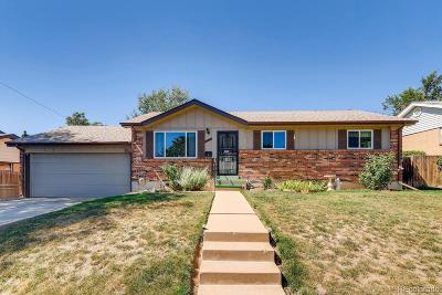 Northglenn Single Family Home Under Contract: 11567 Humboldt Street