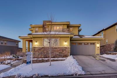 Highlands Ranch Single Family Home Under Contract: 10780 Manorstone Drive